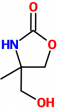 MC001095 4-Hydroxymethyl-4-methyl-oxazolidin-2-one