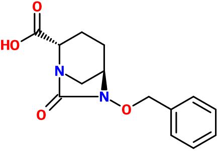 MC012691 2S5R 6 BnO 7 O 16 Diazabicyclo321octane COOH